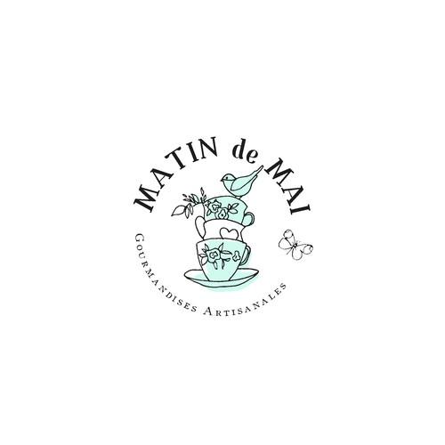 logo pour un salon de thé