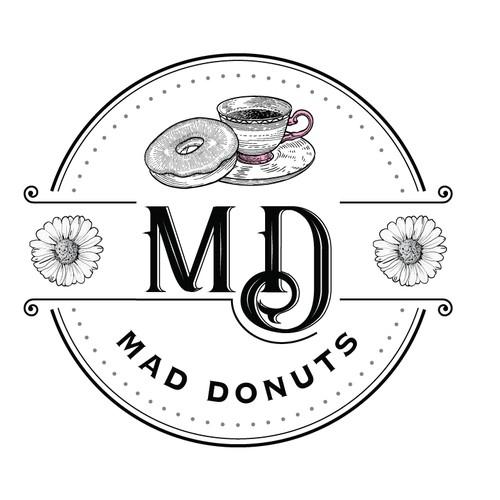 Vintage logo for food company