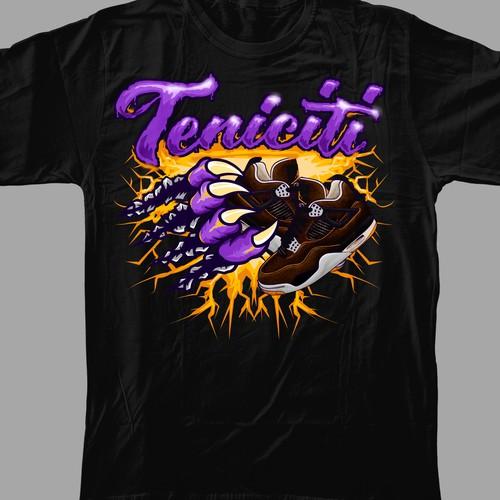 Concept for Teneciti Streetwear