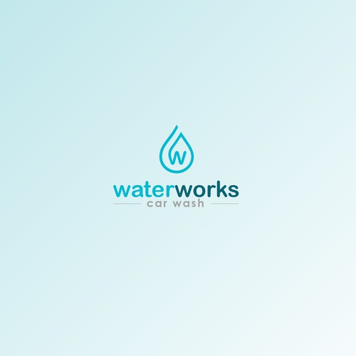 Logo for car wash