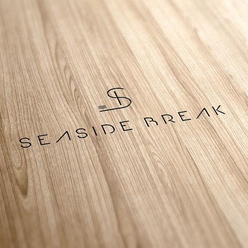 """Logo pour """"Seaside Break"""", marque de déco surf & beach lifestyle"""