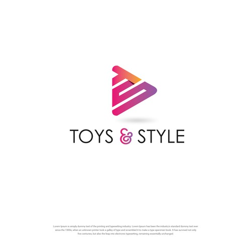 Logo concept for TOYS & STYLE