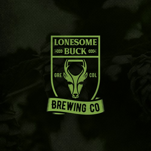 Lonesome Buck Brewing Co. Logo