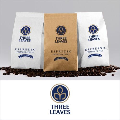 Three Leaves Logo Design
