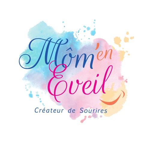 Logo pour activité mère/ enfant en sophrologie, méditation, bien être