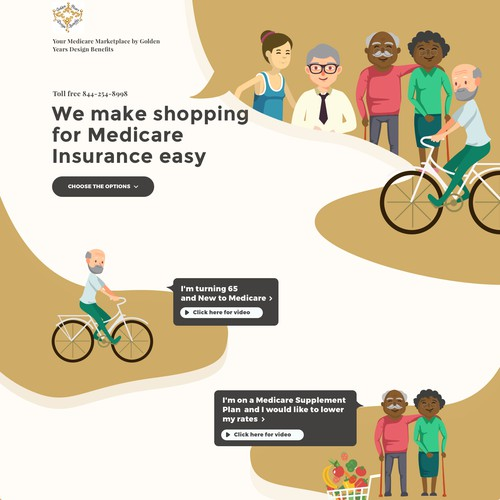 Page for medicare insurance