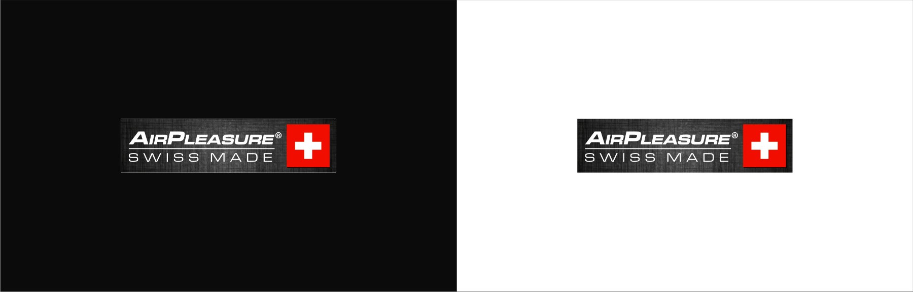 swiss made sticker for AirPleasure Clothes