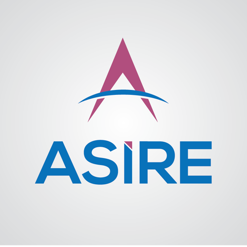 Create a captivating logo for Asire that represents trust and experience but with a pulse