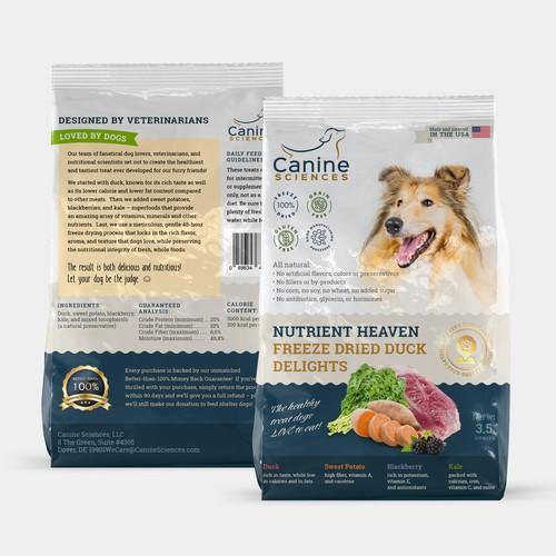 Pet package design