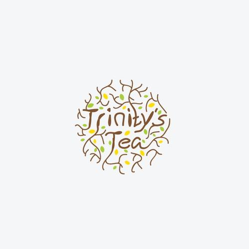 Logo design for trinity's tea