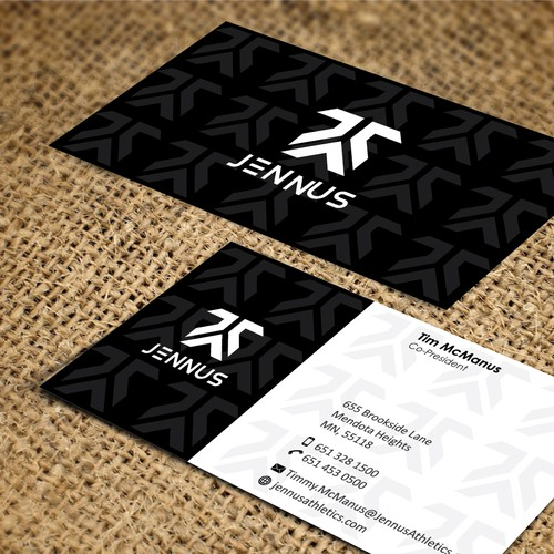 New business card wanted for Jennus / Jennus Athletics / Jennus Athletics Company
