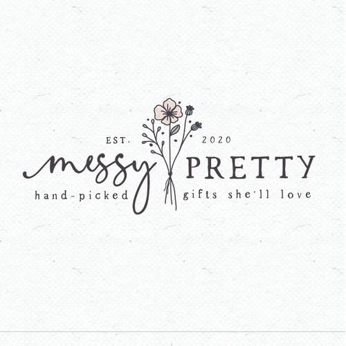 Messy pretty