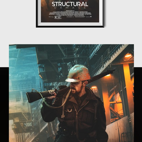 Structural Damage Poster Design Project