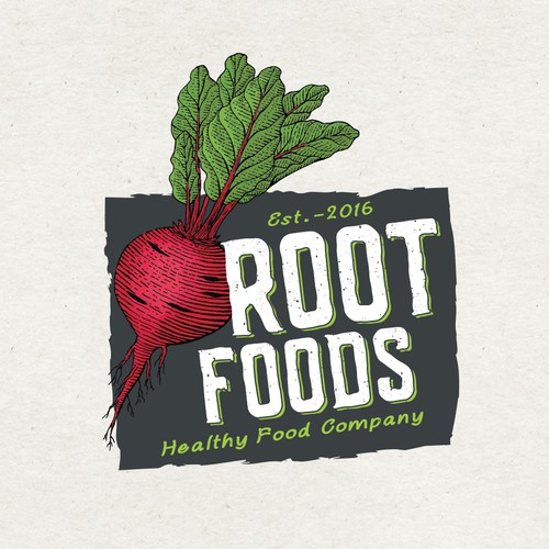 Logo concept for Root Foods