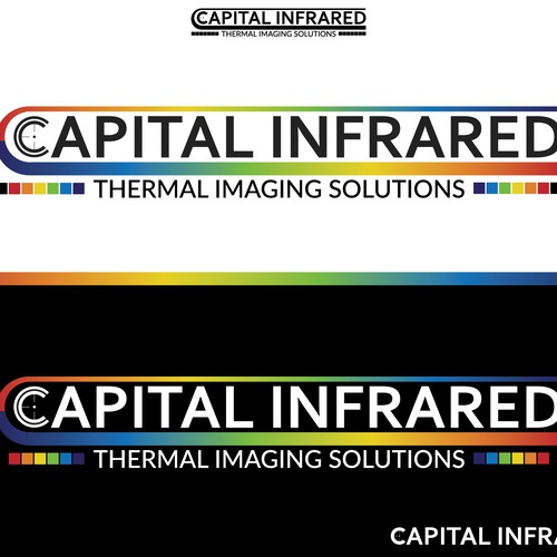 Abstract logo for Capital Infrared