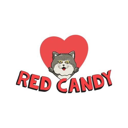 Cat logo character