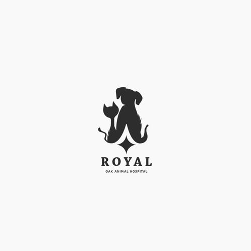 Simple logo design for pet hospital