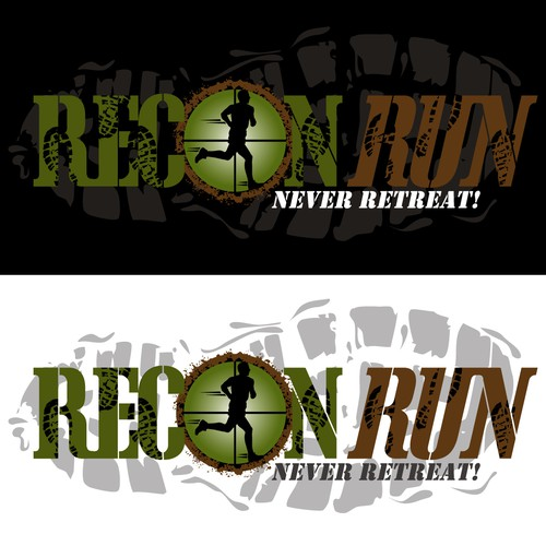"Top Secret Logo for ""Recon Run"""