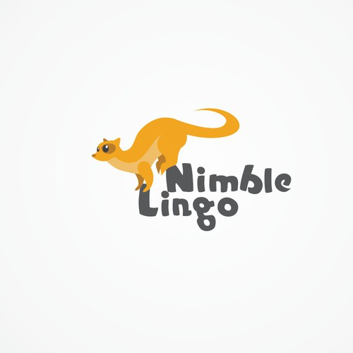 A Logo for gamified language learning app