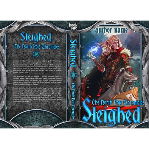 Sleighed book cover