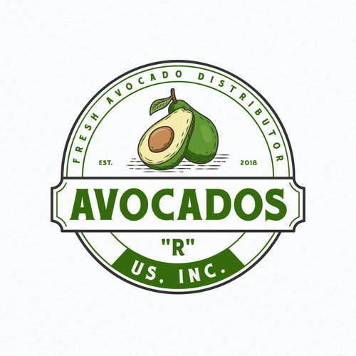 logo design for fresh Avocado Grower/ Packer /Distributor