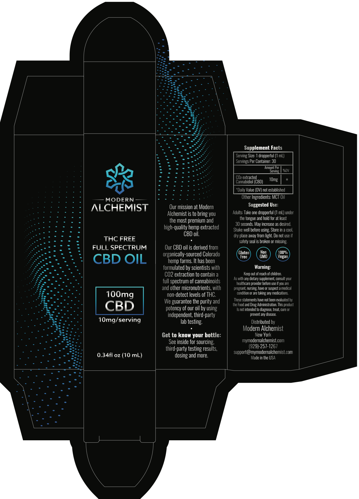 Packaging for cbd company