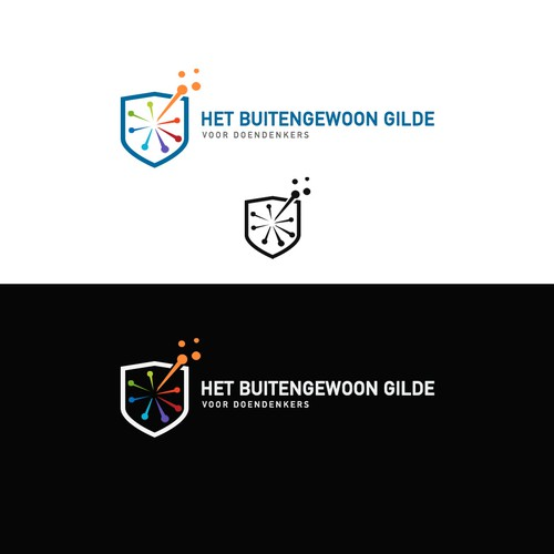 Simply but bold logo for Het Gilde