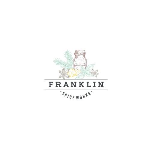 Logo Concept for Franklin Spice Works