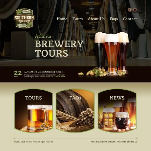 为亚特兰大的新啤酒旅游公司创建一个网站!更多的机会遵循!