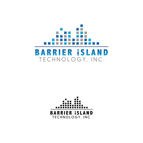 Barrier Island Logo Concept