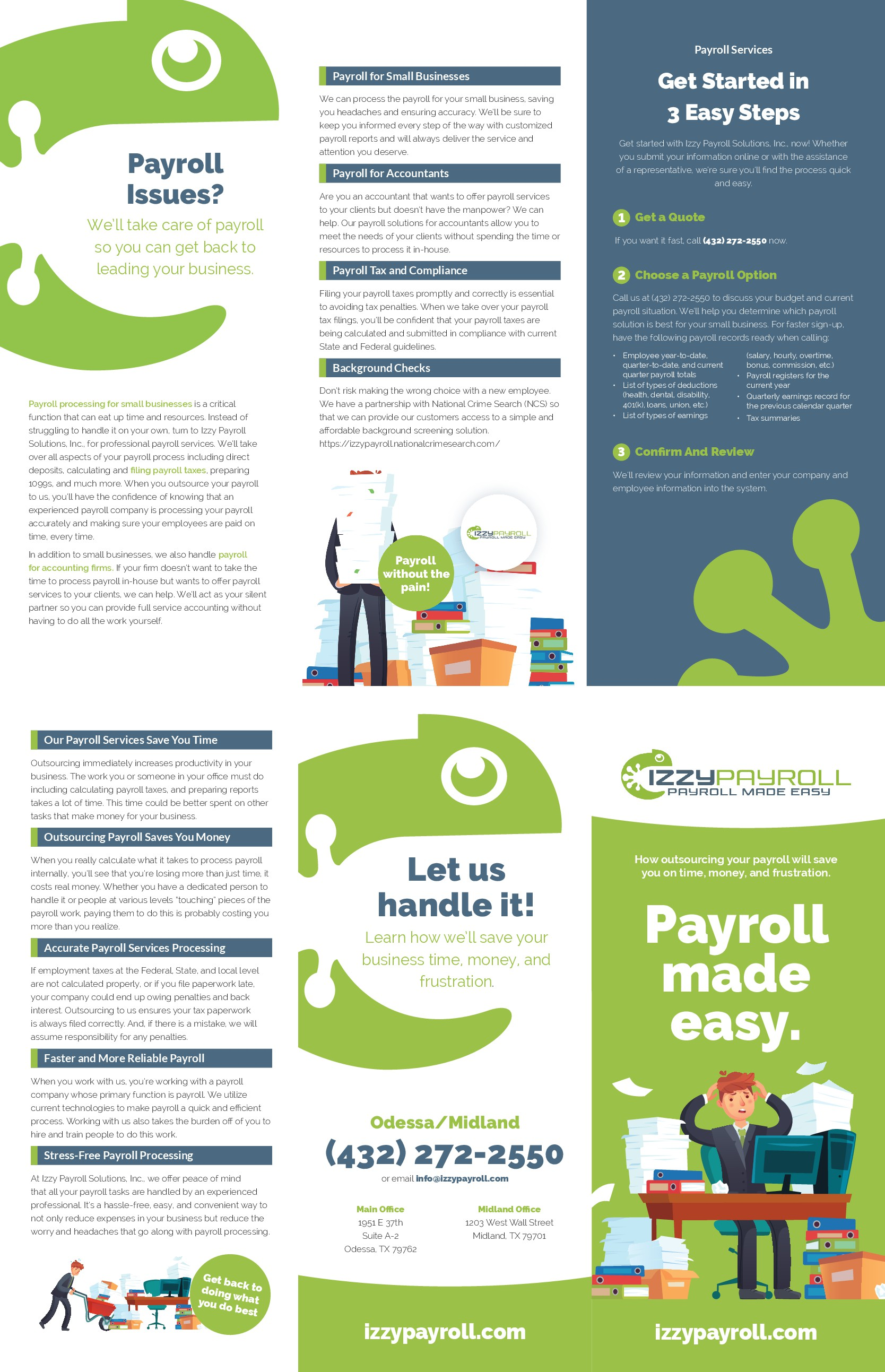 Payroll Processing Brochure