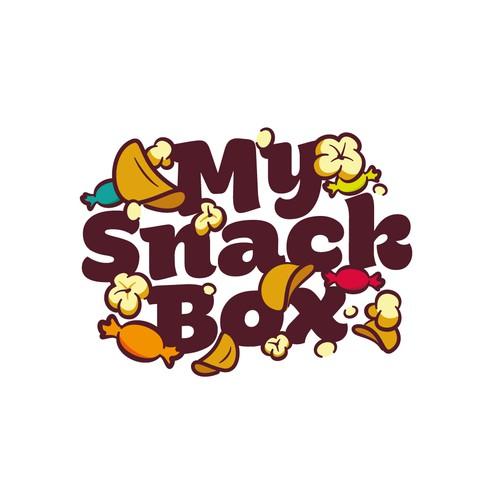 Logo design dor MySnackBox
