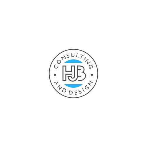 Logo concept for HJB Consulting and design.