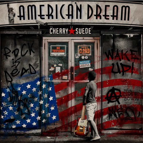 "Album cover ""American dream"""