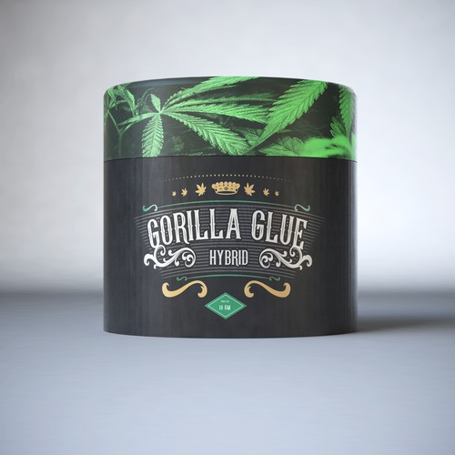 Premium Packaging Design for Canabis