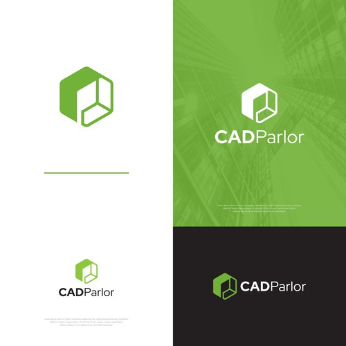 Logo concept for CADParlor