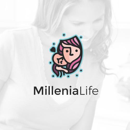Design a logo for a new company reaching millennial moms
