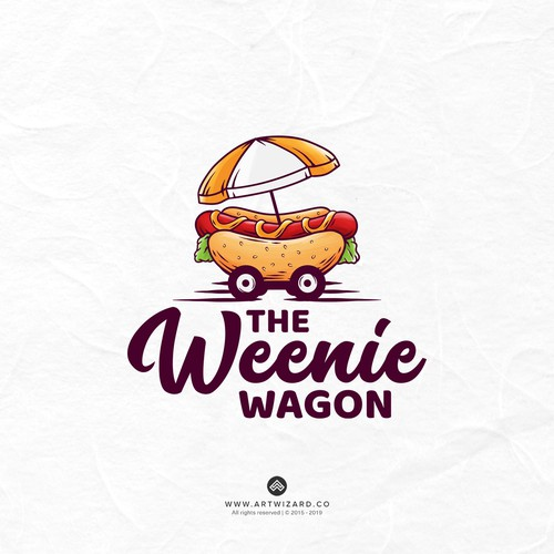 Hotdog Wagon Logo