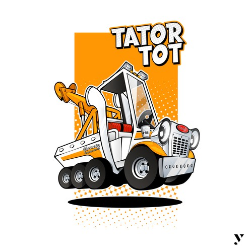 Mascot Design Truck For International Towing & Recovery Hall of Fame and Museum.