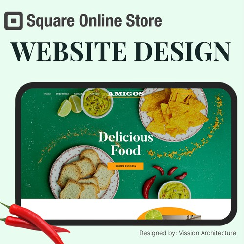 SQUARE ONLINE STORE| for Amigos Restaurant