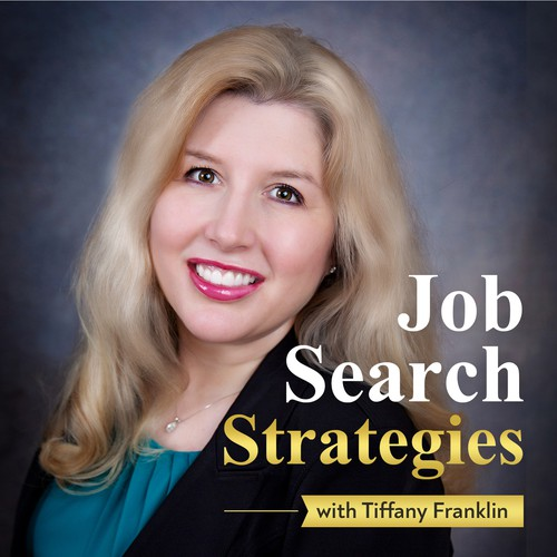 Need striking podcast artwork for career coach helping people with their job search