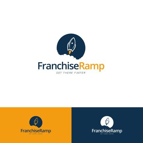 Franchise Ramp Logo design