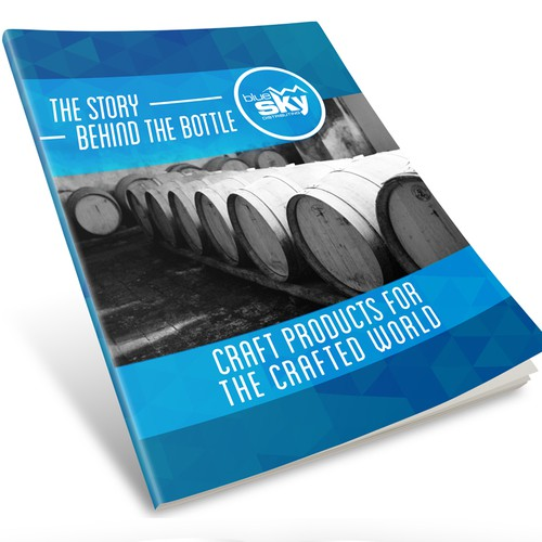 Brands Brochure for a Craft Wine and Spirits Distribution Company
