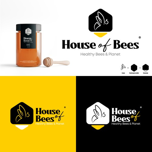 Logo design for House of Bees