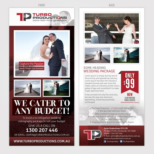 Create the next postcard, flyer or print for Turbo Productions