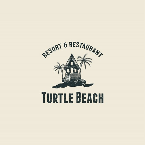 Logo Design for Beachfront Boutique Hotel for Surfers