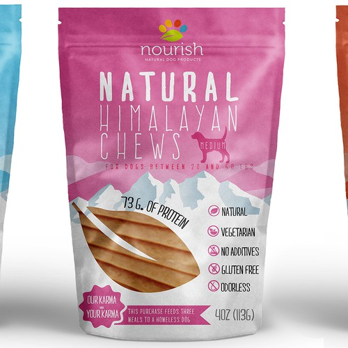 Dog Treats Packaging