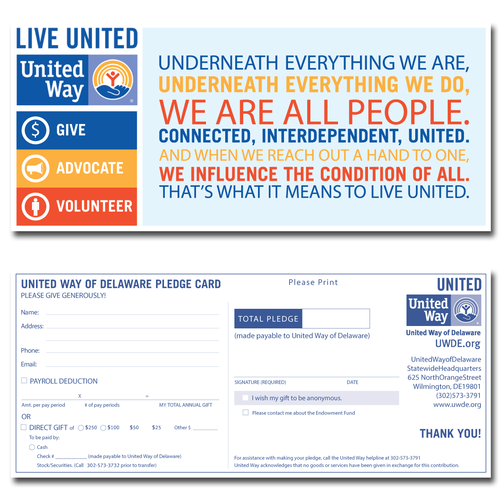 DuPont United Way Pensioner Mailing
