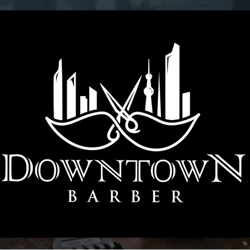 Luxury Logo for Barbershop.