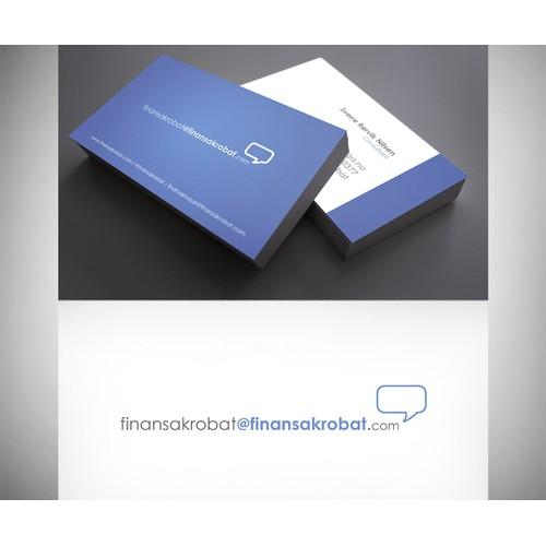 Help finansakrobat@finansakrobat.com with a new logo and business card